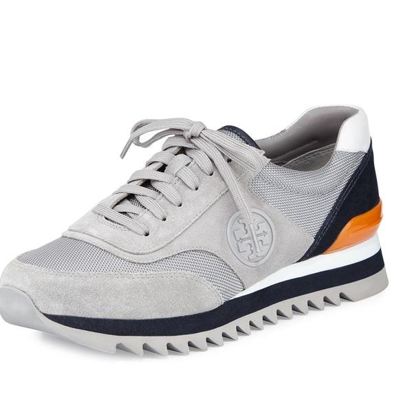 6b6af5b5700 Tory Burch Sawtooth Logo Sneakers. M 5af7c8ae36b9de035a603037